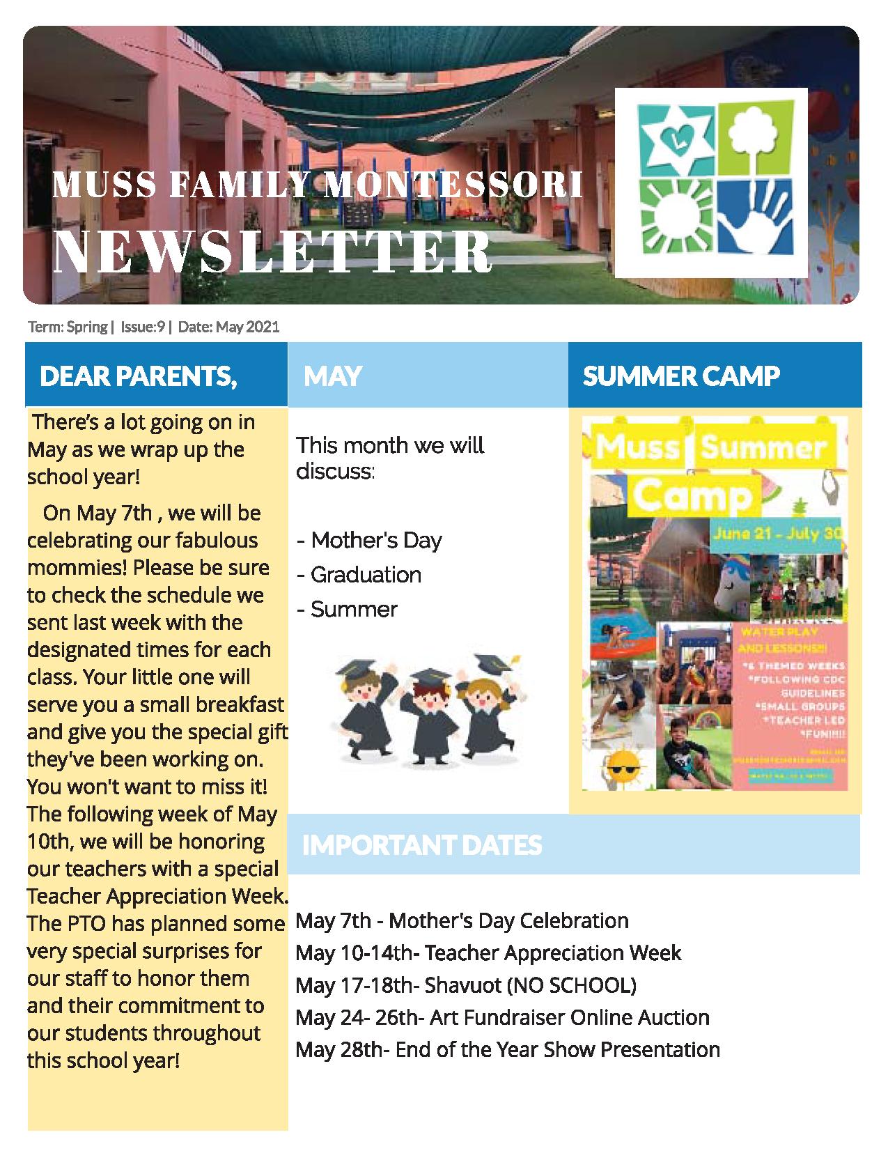 Newsletter 2020 May Pg 1